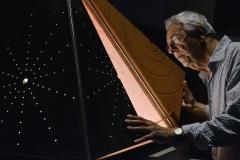 HOMO FABER - Creativity & CraftsmanshipPeople: Pere Ventura Sala Artwork:    Starry Pyramid - Cabinet © Lola Moser / Michelangelo Foundtion for Creativity and Craftsmanship