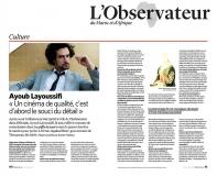 Parution press -  l'Observateur -Maroc-