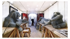atelier d'artiste Aurelien Raynaud - L.Moser-