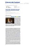 Parution press web - Il Giornale delle Fondazioni - Italie