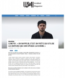 Parution press web -  Untitled Magazine
